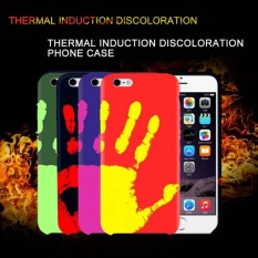 ... TPU Fingerprint Back Cover Temperature Sensing Thermal Heat Induction Shell Color Changed Thermal Sensor Protective Case