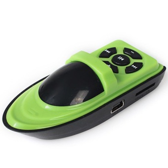 Twin Mp3 Mini Player Ship Style - Green Zoro