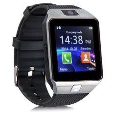 U Watch Smartwatch U9 DZ09 - Hitam - Strap Karet