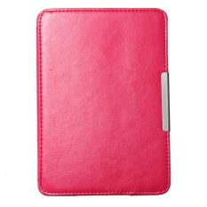 Ultra Slim Smart Magnetic New Leather Case Cover For Amazon Kindle Paperwhite1 2 (Pink)