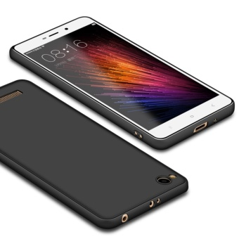 Ultra Thin Matte Soft TPU Back Cover For Xiaomi Redmi 4A ShockproofSkin Case - intl