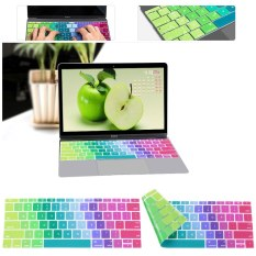 Ultra Thin Silicone Keyboard Cover Protector For Apple MacBook Air Pro Retina US 12 Inch - Intl