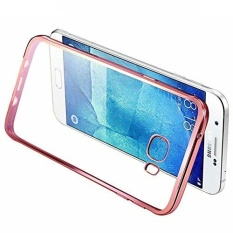 Ultra-Thin Tpu Case Metal Electroplating Technology Soft Silicone Skin Cover For Samsung Galaxy C7