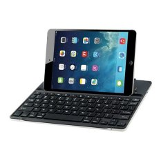 Ultra Thin Wireless Keyboard with Mount Stand For IPad 2 (Black)
