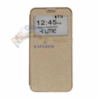 Ume Coolpad Fancy 3 E503 Ukuran 5 5 Inch Flipcover Flipshell Leather Case .