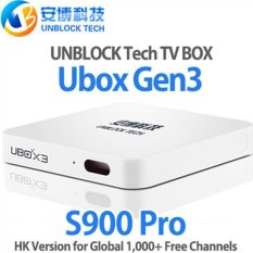 UNBLOCK Gen.3 Oversea S900 PRO 16G With 1000 + Free Channel ONE TIME PAYMENT!
