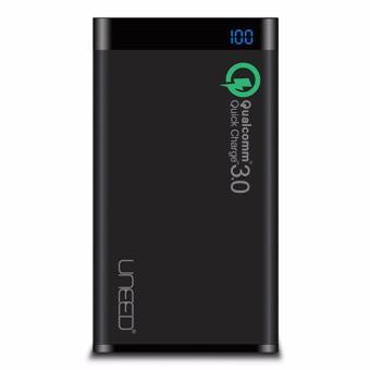 Uneed Powerbank 12.000mah Qualcomm Quick Charge 3.0 Black