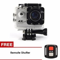 uNiQue Action Cam – Action Camera 4K – 16 MP – WIFI - Silver + FREE Remote