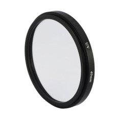 Universal Aluminum Alloy 49mm UV Protection Filter ForDigital SLR Camera (Black) - Intl
