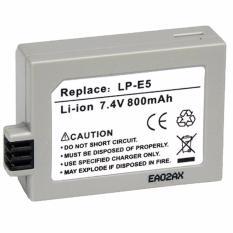 Universal Baterai Camera Canon LP-E5 Battery - Gray