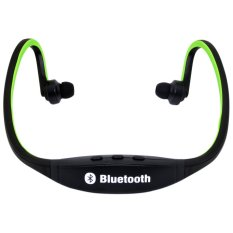 Universal Headphone Bluetooth Stereo Sport Philips Quality Great Bass For Asus Zenfone / Fonepad - Hijau