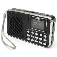 Universal Mini Portable Home Digital Stereo Speaker Radio TF Card FM Radio MP3 (Blue)