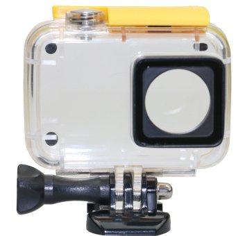 Universal Underwater Waterproof Case IPX-8 45m For Xiaomi Yi 2 4K - Yellow