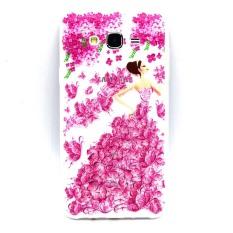 jelas pelangi gradien warna sampul belakang Case Untuk Samsung Galaxy S7 Edge (