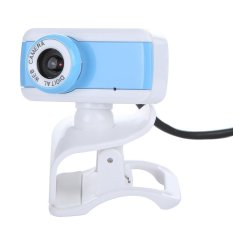 USB 2.0 50.0M HD Webcam Camera Web Cam with MIC For Computer Desktop PC Laptop Blue