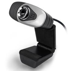 USB 2.0 Digital HD Camera 12 Megapixel Webcam With MIC For Laptop PC Computer Black - Intl