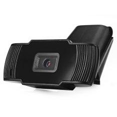 USB 2.0 Webcam 5 Million Pixels PC Camera HD Camera Web Cam For PC Laptop Computer (Black) (Intl)