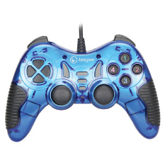 USB PC Gamepad Support Win7/8 (Blue) - Intl