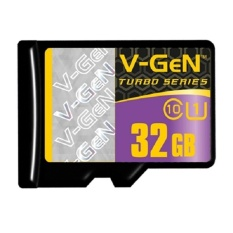 V-Gen Memory Micro SD 32GB Class 10 Turbo Series - Non Adapter
