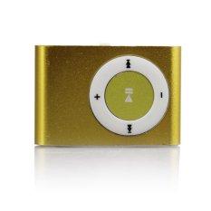 VAKIND Mini USB Clip Metal MP3 Support 1-8GB TF Card (Turquoise)