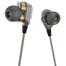 VJJB V1S In-ear Metal Earphone Earbud With Microphone Latest Twin-Turbo High Quality Headphones- Intl