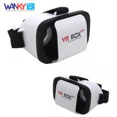 VR Box Mini Max 6 Inch Virtual Reality 3D Glasses For Smartphone - Putih
