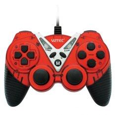 VZTEC USB Dual Shock Controller Game Pad Joystick - VZ6006 - Merah