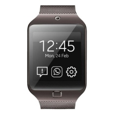 W3 Mini Bluetooth4.0 USB2.0 Smart Watch with SIM TF Card Slot 0.8MP Camera(Coffee) - intl