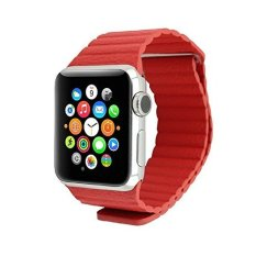 Watch Band For Apple Watch 42mm Magnetic Closure (Red) - Intl