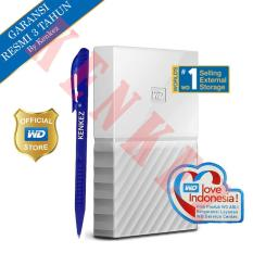 WD My Passport New Design 1TB/2.5Inch/USB3.0 - Putih + Pen