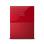"WD My Passport ULTRA New Design 1TB Portable Storage USB 3.0 - Merah Harddisk Eksternal 2.5"" + Gratis Kaspersky USB Antivirus + Pouch WD Original + Pen"