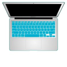 Welink Fashion Silicone US Keyboard Cover Waterproof Keyboard Protector Skin For Apple Macbook Air 11 Inch (Aqua) (Intl)