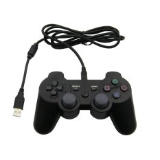 Wired USB Dual Shock Sixaxis Controller For Sony PS3 Console PC Video Game