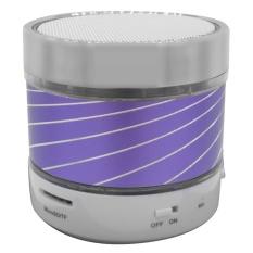 Wireless Sports Bluetooth Speaker (Purple) - Intl