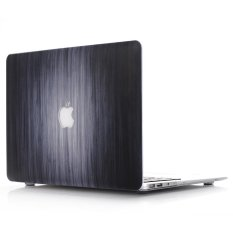 Wood Texture Hard Case for MacBook Pro 13.3-inch with Retina Display A1425 A1502 - Gradient Black - intl