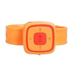 Wrist Watch Design Card Reader MP3 Player Orange