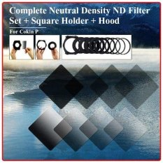 XCSource Complete ND 2 4 8 16 Filter Kit For Cokin P + Holder + Wide Adapter + Lens Hood