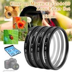 XCSource LF5.52mm Close Up Macro Filter Kit For Nikon D3000 / D5000 - Intl