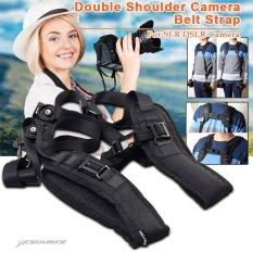 XCSource Quick Rapid Double Shoulder Camera Belt Strap For 2 SLR DSLR Cameras LF310