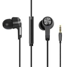 Xiaomi Mi Piston III In-Ear Headphones Original - Silver-Abu