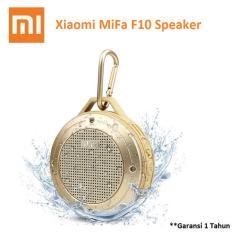 Xiaomi MiFa F10 Outdoor Waterproof IPX6 Bluetooth Portable Speaker - Gold