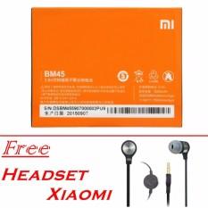Xiaomi Original Battery BM-45 Baterai for Xiaomi Redmi Note 2 [3020 mAh]