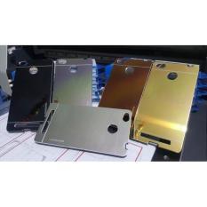 Xiaomi Redmi 3 Pro Motomo Mirror Hardcase Metal Aluminium Backcase Softcase Case Casing Hp Cover
