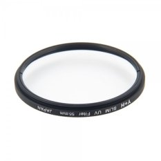 Y + H 55mm Ultra-thin Frosted Frame High Transparency UV Digital Filter - Intl