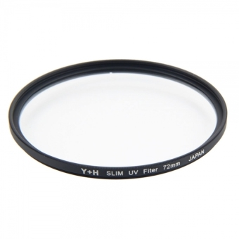 Y + H Ultra-thin Frosted Frame High Transparency UV Digital Filter - Intl