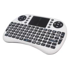 YBC 2.4G Wireless Keyboard Mouse Combo With Touchpad For PC Android White