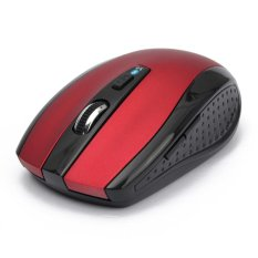 Ergonomic Non-slip Wireless Optical Bluetooth Mouse 1600 DPI Gaming Bluetooth 3.0 Mice For Laptop Notebook PC Computer Red (Intl)