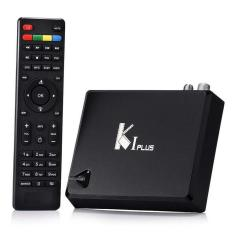 Yedatun Android TV Box KI PLUS T2 S2 Amlogic S905 Quad Core 64bit Streaming Media Player Support DVB-S2 DVB-T2 4K KODI Media Player