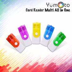 Yumoto Card Reader usb All In One - 4 Slot Model Flashdisk Putar - random