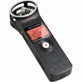 Zoom H1 Handy Recorder Black + Accessory Pack Zoom H1 (APH1) + Fur / Windshield (Black Free Size) + Hot Shoe Mount Adapter
